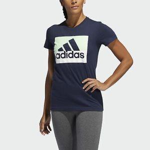 Adidas Graphic Logo Amplifier Tee Shirt